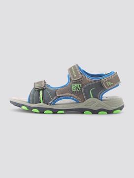 Sandalen met klittenband - 1 - TOM TAILOR