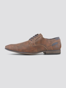 Classic faux leather lace-up shoes - 7 - TOM TAILOR