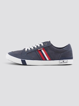 Sneakers in a textured mix - 7 - TOM TAILOR