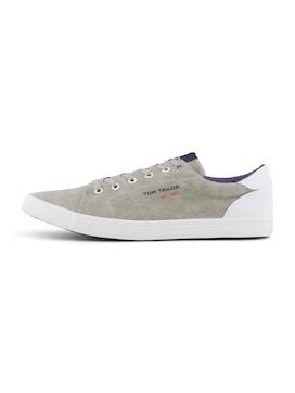 Herren Melierter Sneaker, braun
