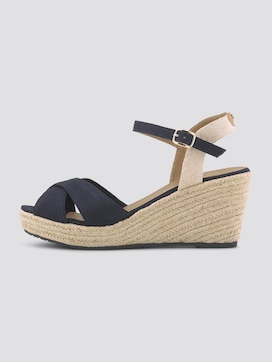 Wedge heel sandals - 7 - TOM TAILOR
