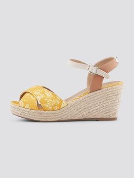 Faux suède sleehak sandaal - 7 - TOM TAILOR