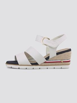 Comfortable wedge heel sandals - 7 - TOM TAILOR