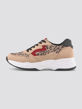 Sneaker with an animal print - 7 - TOM TAILOR Denim