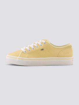 Fabric sneakers in pastel tones - 7 - TOM TAILOR Denim