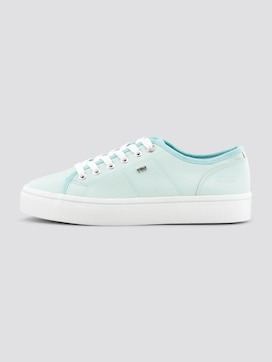 Stoffen sneakers in pasteltint - 7 - TOM TAILOR Denim
