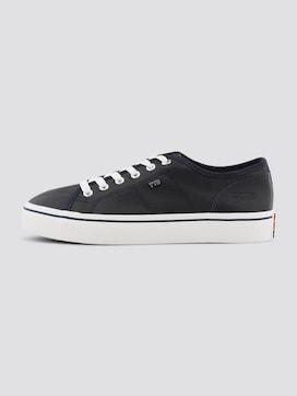 Grauer Stoff-Sneaker - 7 - TOM TAILOR Denim