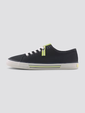 Fabric sneakers with neon details - 7 - TOM TAILOR Denim
