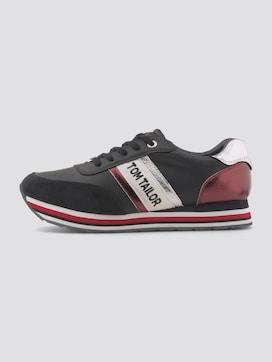 metallic sneakers met strepen - 7 - TOM TAILOR Denim