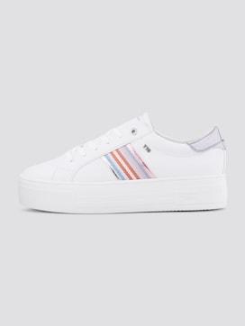 Platform Sneakers met metallic Strepen - 7 - TOM TAILOR Denim