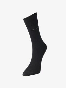 TT men basic socks 2pcs indigo melange - 1 - TOM TAILOR