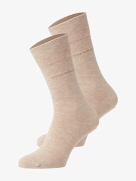Basic Socken im Doppelpack - 7 - TOM TAILOR
