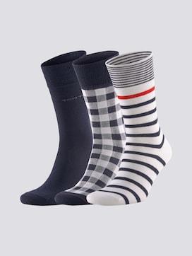 Socken im Dreierpack - 7 - TOM TAILOR