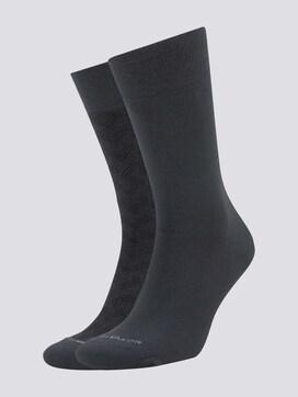 Socken mit Muster im Doppelpack - 7 - TOM TAILOR