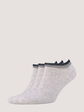 Colorblocking Socken im Dreierpack - 7 - TOM TAILOR