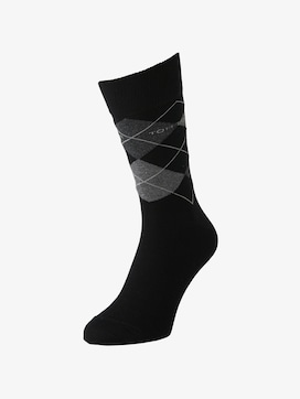 TT men's basic socks 2pcs - 1 - TOM TAILOR