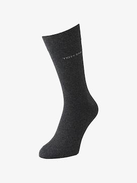 TT men's basic socks 2pcs - 2 - TOM TAILOR