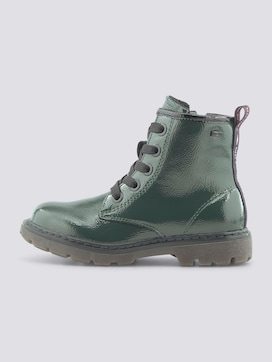 Gefütterte Lackleder Boots - 7 - TOM TAILOR