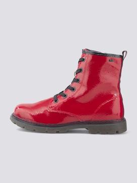 Gefütterte Lackleder Boots - 7 - TOM TAILOR