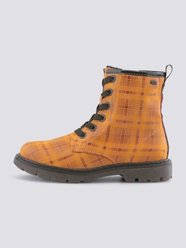 Checked boots - 7 - TOM TAILOR