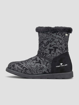 Gemusterte Winterstiefel - 7 - TOM TAILOR