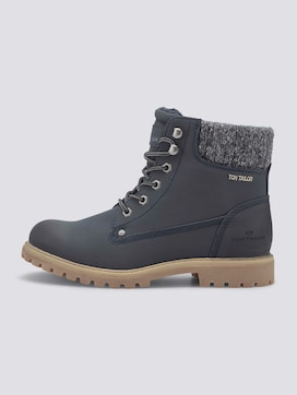 Lined lace-up boots - 7 - TOM TAILOR