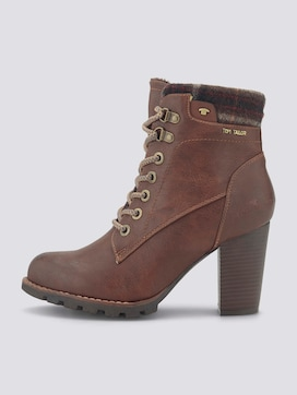 Lace-up ankle boots with heels - 7 - TOM TAILOR