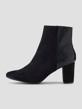 Ankle Boots mit Lederprägung - 7 - TOM TAILOR