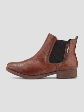 Chelsea Boots in Kroko-Optik - 7 - TOM TAILOR