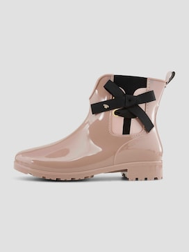 Rubber boots with bows - 7 - TOM TAILOR