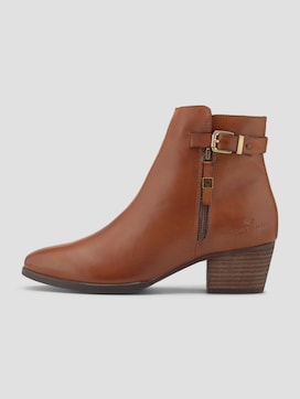 Genuine leather ankle boots - 7 - TOM TAILOR