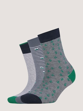 Marine socks in a pack of three - 7 - TOM TAILOR