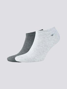 Sneaker-Socken im Doppelpack - 7 - TOM TAILOR
