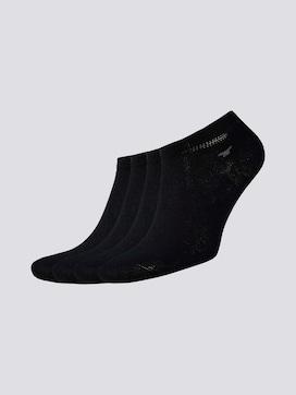 Viererpack Sneaker Socken - 7 - TOM TAILOR