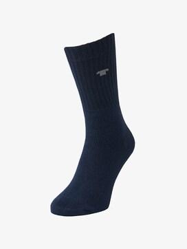 nos sport socks 3pcs - 1 - TOM TAILOR