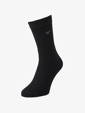 Tennis-Socken im Dreierpack - 1 - TOM TAILOR