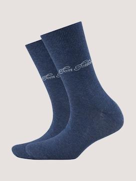 basic socks double pack - 7 - TOM TAILOR
