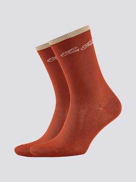 Weiche Socken aus Modal im Doppelpack - 7 - TOM TAILOR