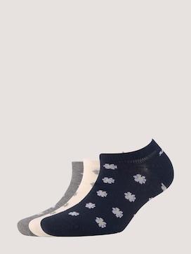 Sneakersocken im Dreierpack - 7 - TOM TAILOR
