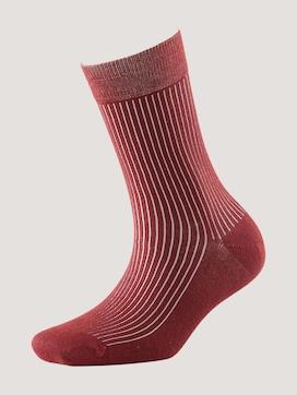 Moderne effen geribbelde sokken - 7 - TOM TAILOR