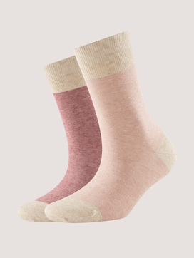 Sokken met strepen in een verpakking van twee - 7 - TOM TAILOR