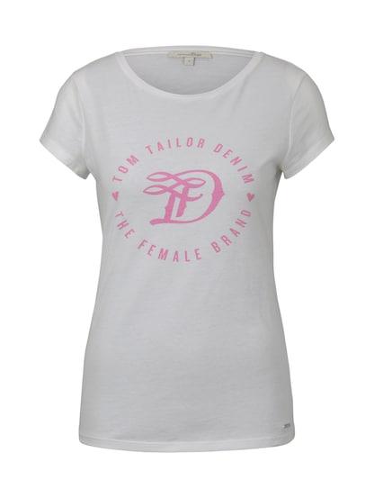 Tops Tom Tailor Damen T-Shirts