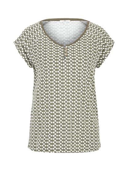 Shirt Carmenshirt aqua türkis mint kurzarm Damen T-Shirt Damenmode