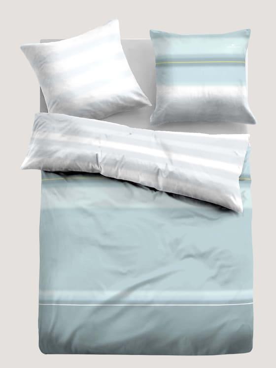 Satin Bettwäsche gemustert - unisex - lichtblau / l.blue - 7 - TOM TAILOR