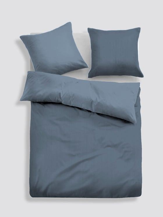 Bettwäsche in Satin-Optik - unisex - jeans - 1 - TOM TAILOR