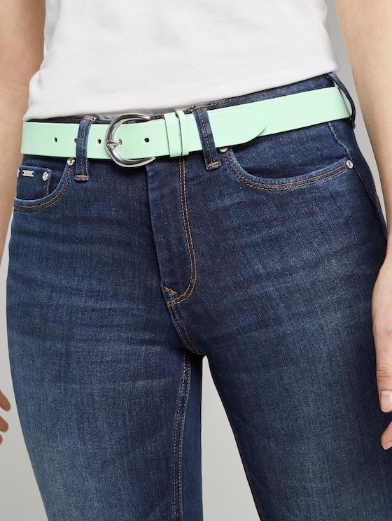 Vintage leather belt - Women - mint - 5 - TOM TAILOR Denim