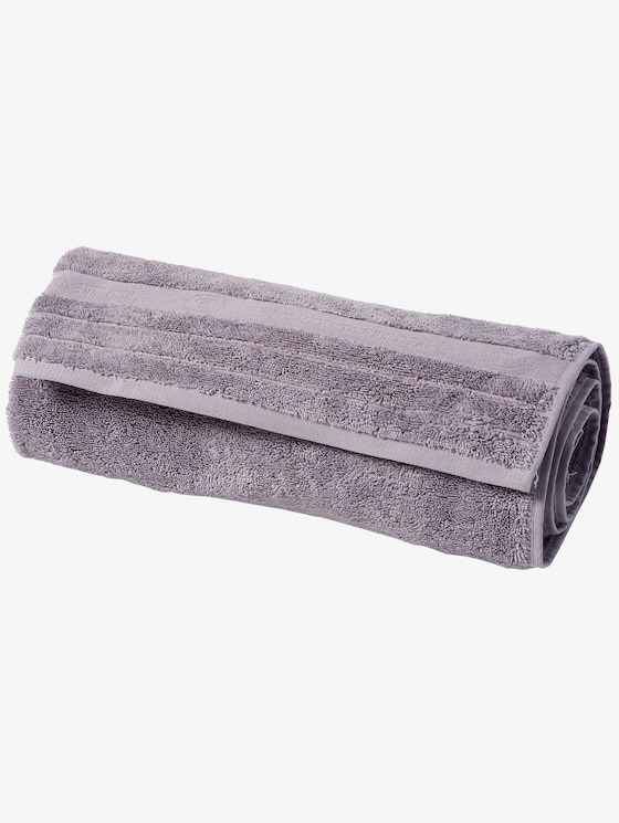 terry cloth towel - unisex - silber / silver - 1 - TOM TAILOR