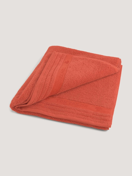 Badstof handdoek - uniseks - terra - 7 - TOM TAILOR