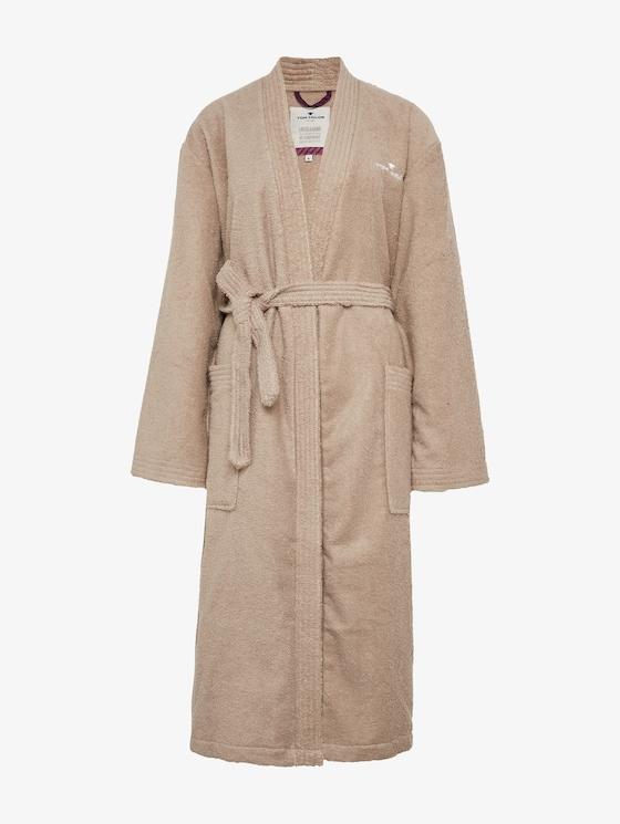 bathrobe - Men - sand / sand - 7 - TOM TAILOR