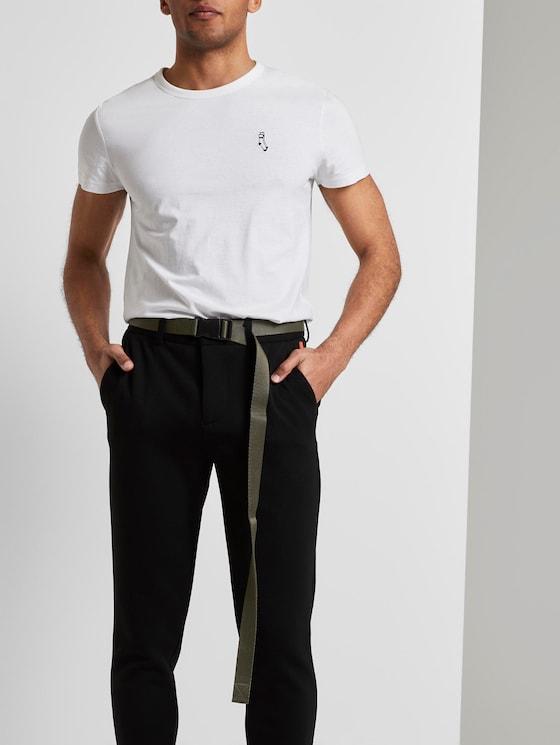 Extra langer Stoffgürtel mit Schnallenverschluss - Männer - olive - 5 - TOM TAILOR Denim